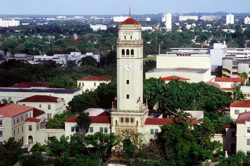 Fotografía del cuadrangulo del Recinto de Rio Piedras de la Universidad de Puerto Rico en San Juan, Puerto Rico. EFE/Archivo