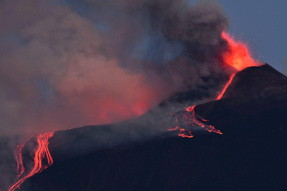 volcán edna