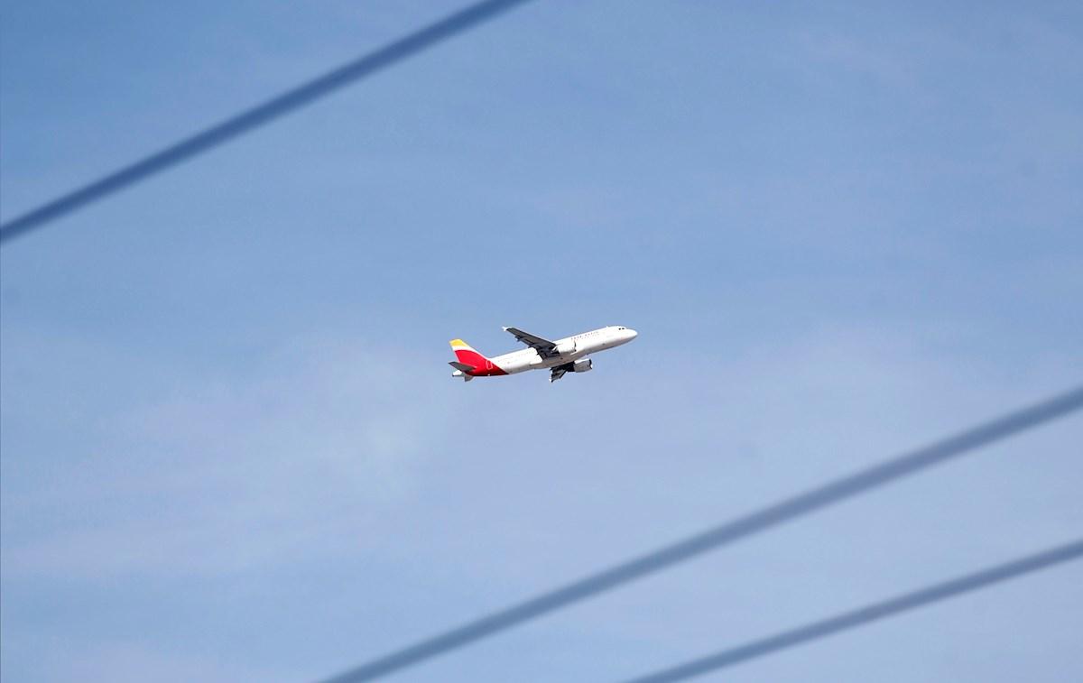 gas emisiones ambiente aviación
