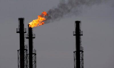 gas ambiente refinería
