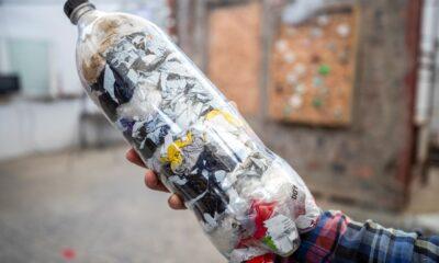 botella plástico basura contaminación