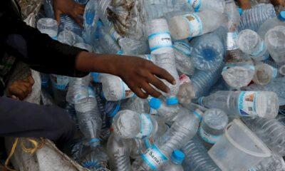 plástico basura ambiente
